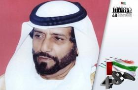 طحنون بن محمد: ذكرى اليوم الوطني احتفال بقيم وطموحات مؤسس هذا الكيان الوحدوي العظيم
