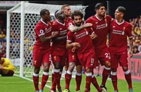 ليفربول يسعى لحسم التأهل الى دوري الأبطال