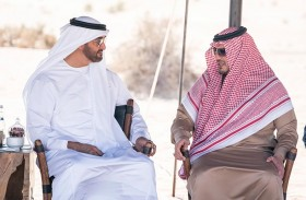 محمد بن زايد يبحث مع وزير الداخلية السعودي العلاقات الأخوية وتطورات الأوضاع الإقليمية والدولية