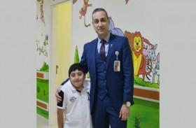 جراحة معقدة في دبي لإنقاذ طفل من التواء العمود الفقري