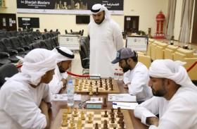 سرحان المعيني يفتتح بطولة الإمارات لشطرنج الرجال