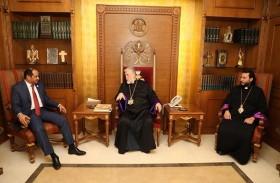 بطريرك الأرمن الأرثوذكس في لبنان : التسامح في الإمارات حقيقة واقعية