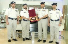 قطاع الأمن الجنائي بشرطة أبو ظبي يكرم الفائزين بجائزة التنافسية