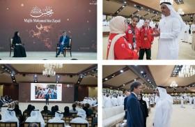 مجلس محمد بن زايد يستضيف محاضرة  «جيل مدارس الدمج» لرئيس الأولمبياد الخاص الدولي
