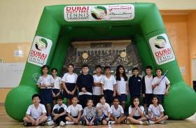 ألف طفل يشاركون في فعاليات بطولة سوق دبي الحرة