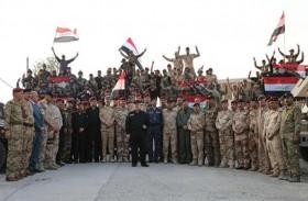 عرض عسكري في بغداد احتفالا بالنصر على داعش