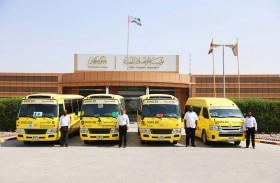 مواصلات عجمان تستقبل العام الدراسي بحافلات جديدة