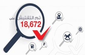 «أبوظبي للجودة» يعلن نتائج الربع الأول لعمليات التحقق والتفتيش