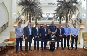 فندق باب القصر يستضيف لاعب الغولف العالمي «مارك ستيفنسون»