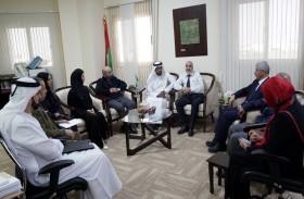 جامعة الشارقة تستقبل وفداً من وزارة الاقتصاد