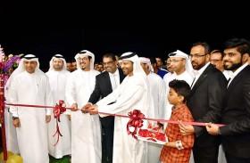 محمد عبد الله السلامي يفتتح الفرع الثالث والعشرين لمحلات تلال للأزياء بدبا الفجيرة