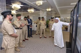 اللواء المري يعتمد الخطط التطويرية لملتقى حماية الدولي الثالث عشر