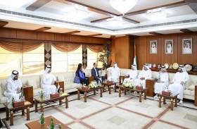 غرفة عجمان تبحث التعاون الاقتصادي مع قنصلية المملكة المغربية