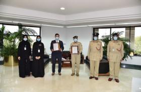 شرطة دبي تحصل على «الآيزو» في نظامي إدارة الطاقة وإدارة كفاءة المياه