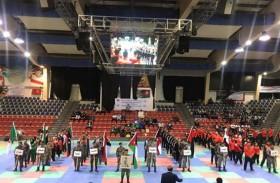 افتتاح بطولة العرب للكيك بوكسينج بالعاصمة الأردنية