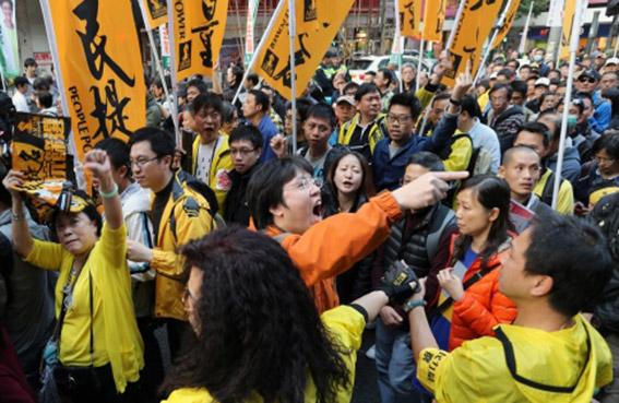 الصين تحاول اسكات حركة العصيان المدني