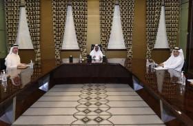 حمدان بن راشد يترأس الاجتماع السنوي لعمومية دوبال القابضة