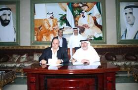 نادي الإمارات يوقع عقد إنشاء المشروع الاستثماري