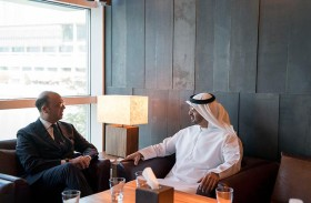 محمد بن زايد يبحث مع وزير الخارجية الإيطالي علاقات التعاون والأوضاع الإقليمية والدولية