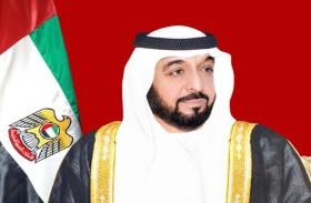 رئيس الدولة يتلقى دعوة من الرئيس اللبناني للمشاركة في القمة العربية التنموية الاقتصادية والاجتماعية