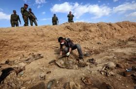 قطرات دم وعظام.. جرائم داعش ضد الأيزيديين