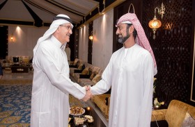 عمار النعيمي يستقبل الرعاة المشاركين في «رمضان عجمان»