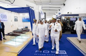 هزاع بن زايد يفتتح معرض الدفاع البحري «نافدكس» 2019