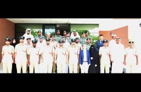 """ختام دورة """"قياس أثر التدريب"""" في شرطة دبي"""