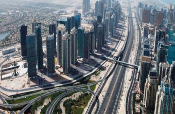 593 مليون درهم قيمة تصرفات العقارات في دبي امس