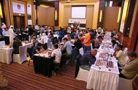 استئناف منافسات مهرجان أبوظبي الدولي للشطرنج لعام 2017