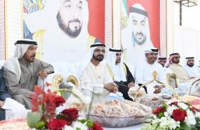 محمد بن راشد يحضر أفراح العامري والفلاسي