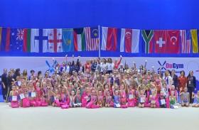 ختام الدورة الثانية من بطولة كأس دوجيم الدولية للجمباز الإيقاعي