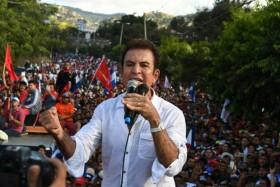 الرئيس المنتهية ولايته يتقدم في انتخابات هندوراس