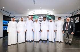 وفد قسم تأهيل وتسجيل الاستشاريين والمقاولين  في بلديـة دبي يزور دائرة التخطيط العمراني والبلديات