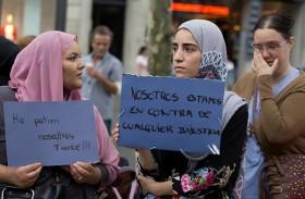 مسلمون يخشون ردود فعل عنيفة في برشلونة المتسامحة
