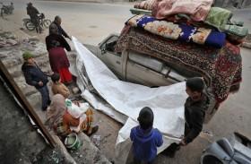 أطفال إدلب.. هاربون من الحرب ومسكونون بالخوف