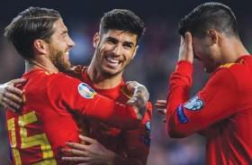 بداية جيدة لإسبانيا وإيطاليا بتصفيات كأس أوروبا