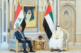 محمد بن زايد يؤكد وقوف الإمارات إلى جانب العراق وأمنه واستقراره ووحدته