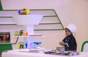 الطاهية الصغيرة جهان رازدان تطل على زوار«الشارقة القرائي»
