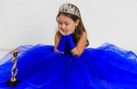 طفلة مصرية تفوز بلقب ملكة جمال في روسيا