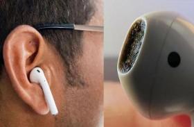 حقيقة مثيرة للاشمئزاز لسماعات الأذن