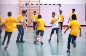 نادي الحمرية ينظم فعاليات كرة القدم واللياقة البدنية لـ 600 مشارك