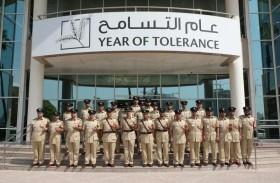 اللواء المري يتفقد الإدارة العامة لإسعاد المجتمع