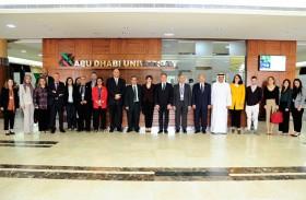 السفير الفرنسي يزور جامعة أبوظبي