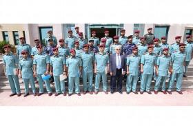 92 منتسبا لشرطة رأس الخيمة يكملون دورات تدريبية