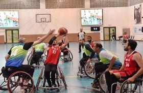 كأس السلة للكراسي المتحركة بين النيابة والبلدية في دورة ند الشبا الرياضية