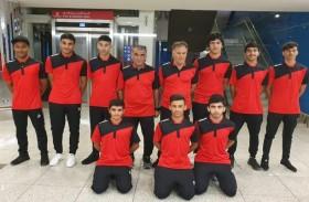 منتخب الشباب والناشئين  للدراجات توجه  للمعسكر الخارجي في المغرب