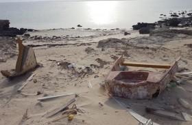 بلدية الظفرة تنفذ حملات نظافة في 3 محميات خلال شهر