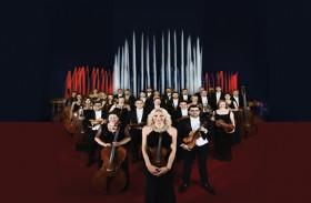احتفال باليوم الوطني النمساوي  مع أكبر نافورة في العالم