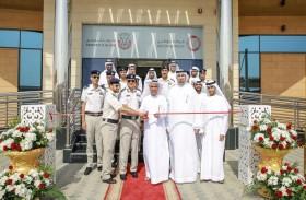 افتتاح مركز الفحص الفني للمركبات الثقيلة في منطقة الساد بالعين